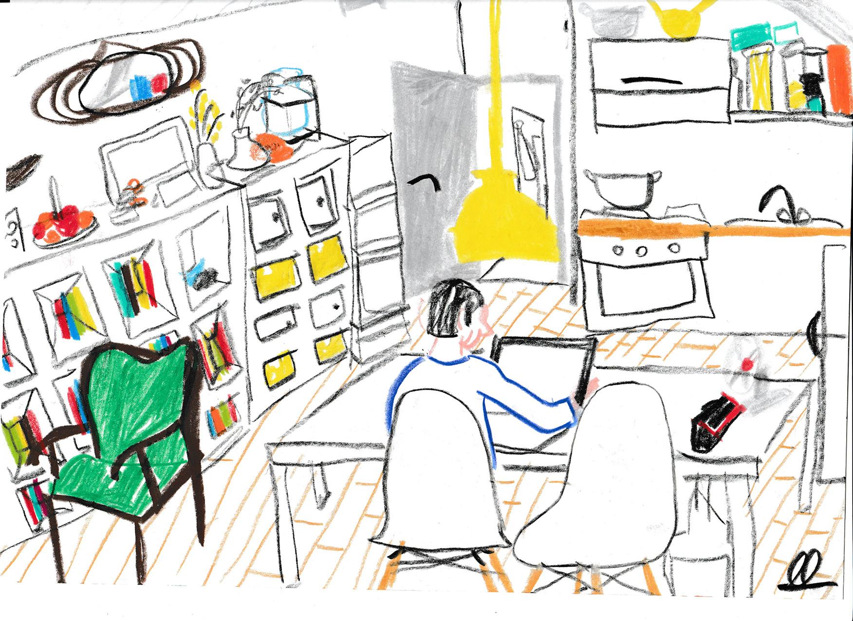 Sketchmob: disegna ciò che vedi dalla finestra