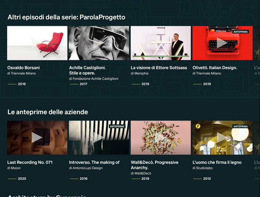 Design Resistenza approda su Fuorisalone TV